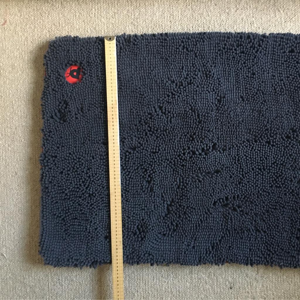 Memory Foam Microfiber Dog Crate Mat