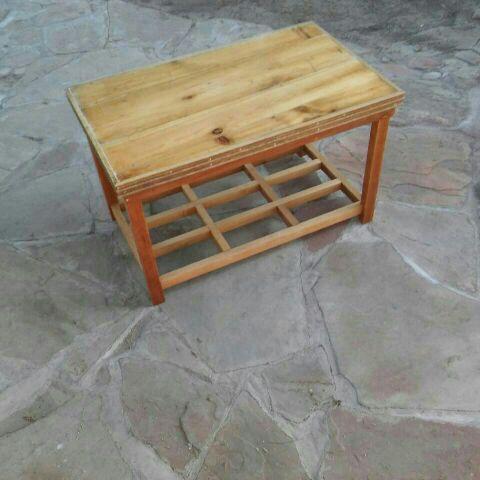 Handmade wood table