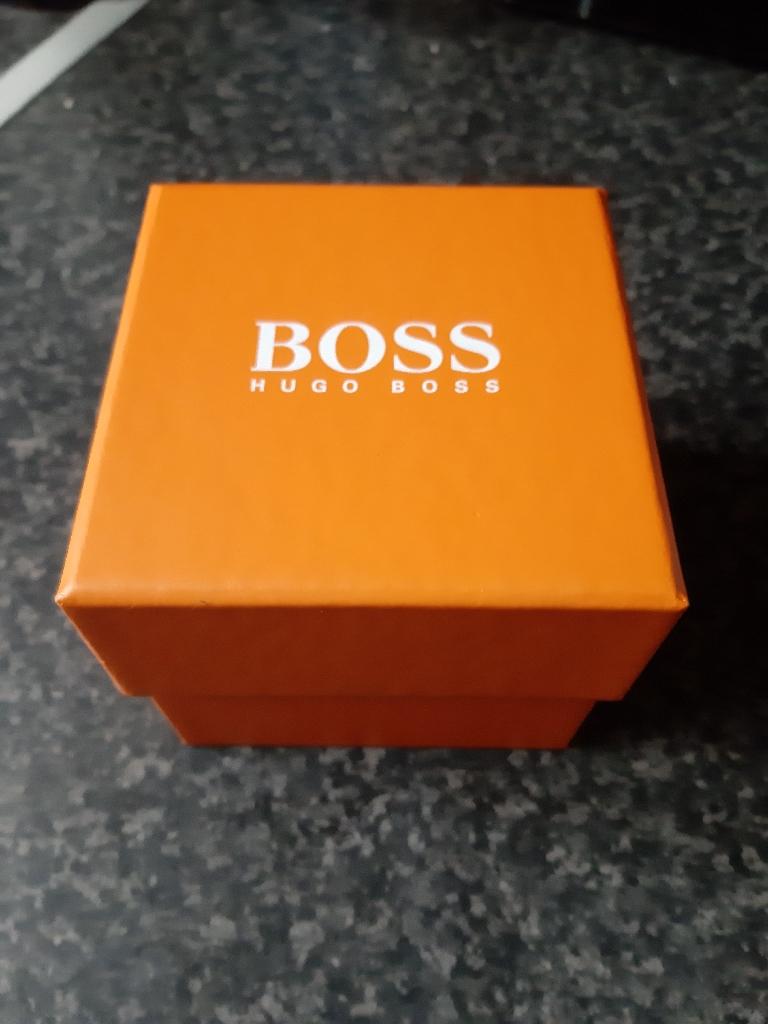 Men's Hugo Boss Orange Watch