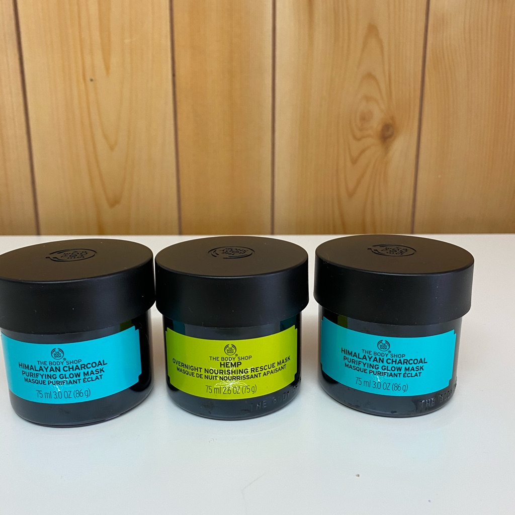 Body shop charcoal mask