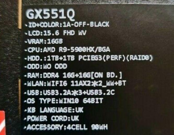 ASUS ROG Zephyrus Duo 15 - RTX 3080 AMD Ryzen 9 Gaming Laptop