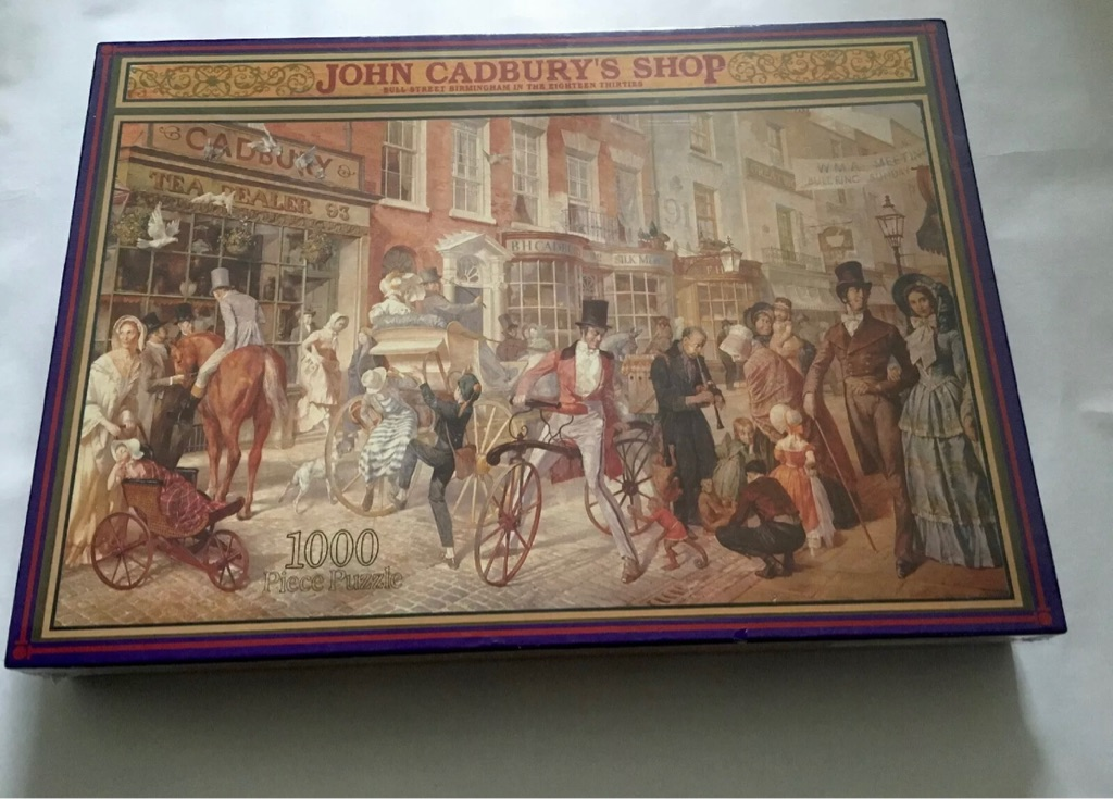 JOHN CADBURY'S SHOP CADBURY'S HERITAGE COLLECTION 1000 PIECE JIGSAW PUZZLE