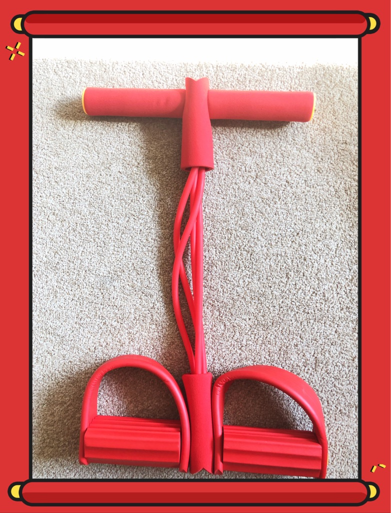 4 Tube Pedal Resistance Fitness Rope