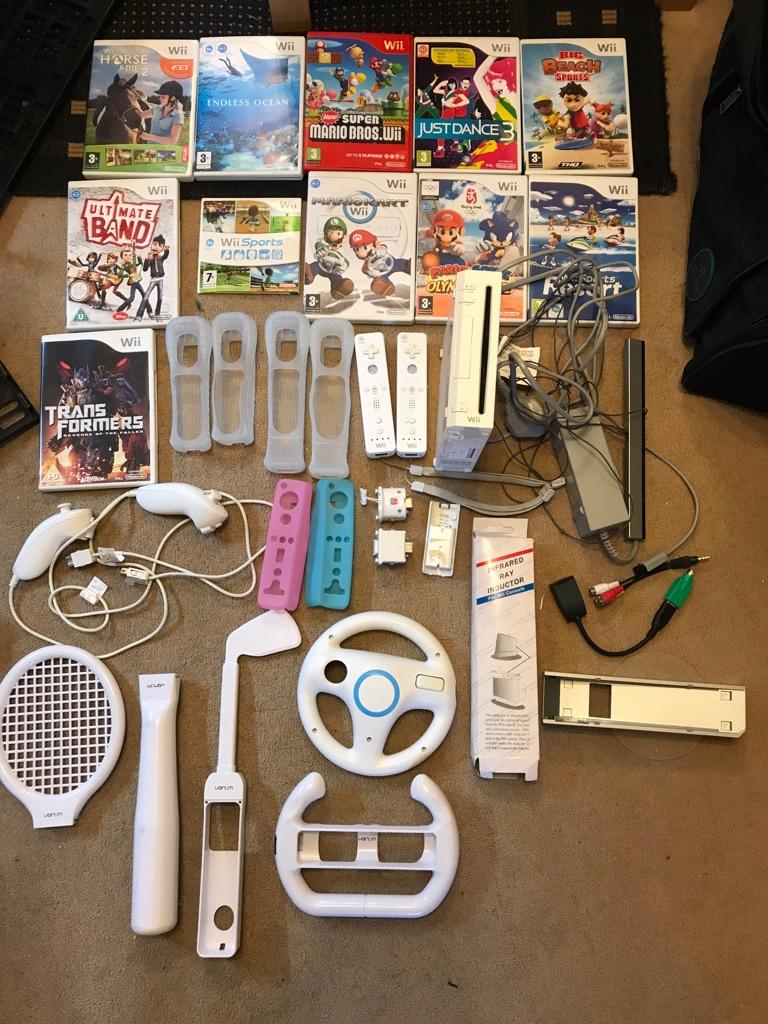 Complete Nintendo Wii bundle