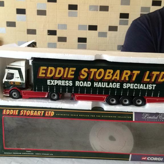 Limited edition Eddie stop art