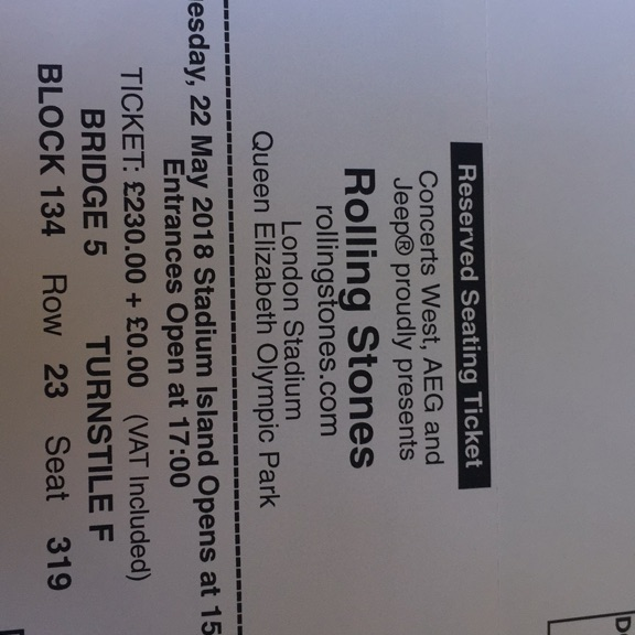 Rolling Stones Tickets - Grab a Bargain