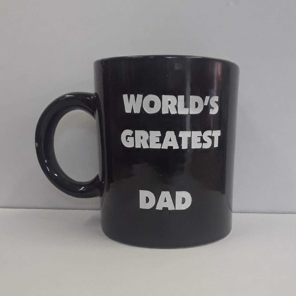 Greatest Dad coffee mug