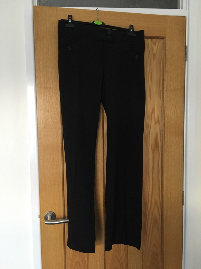 Smart straight trousers