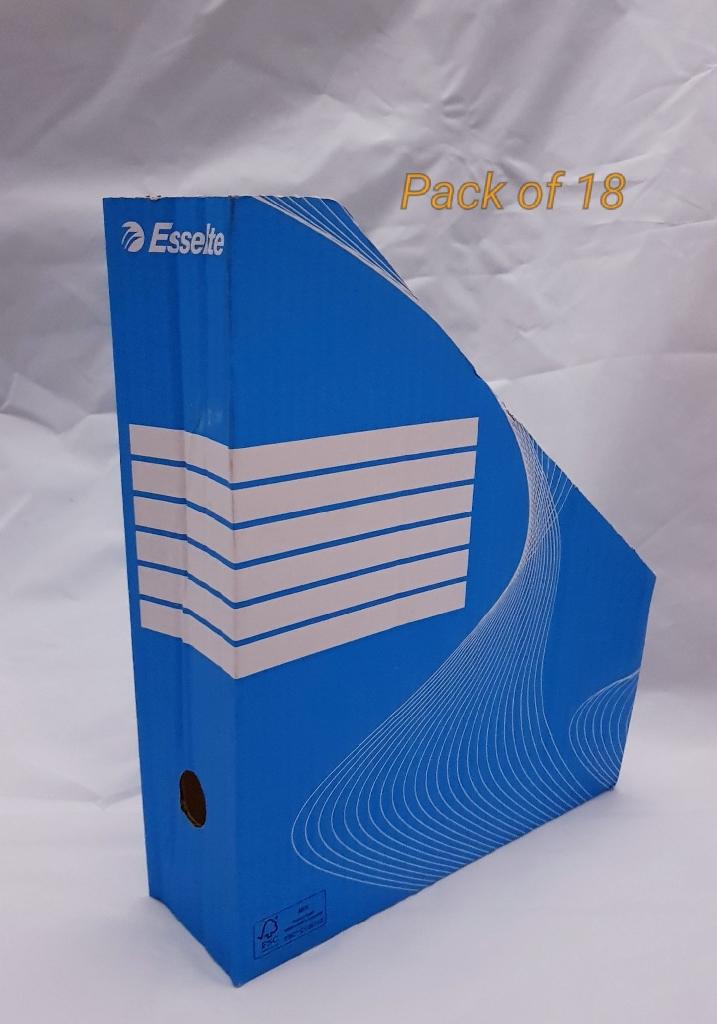 Esselte Magazine Paper File Rack x18 New