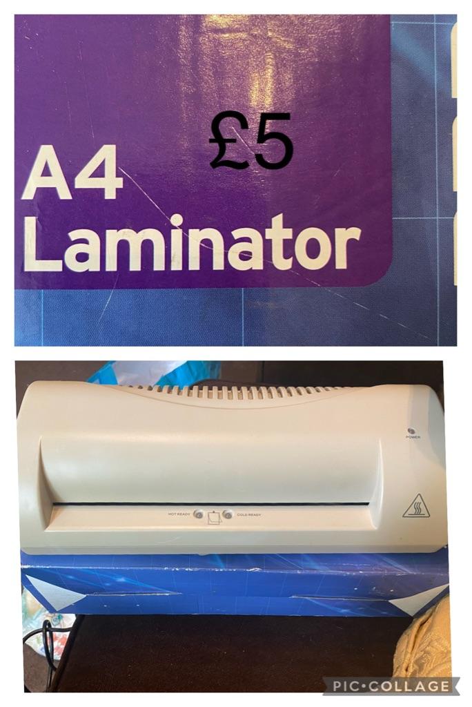 Untested laminator