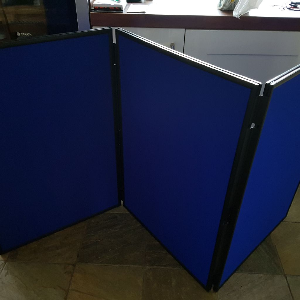 Double sided display boards