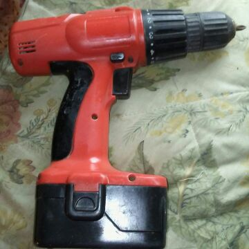 Black and Decker drill and battery only