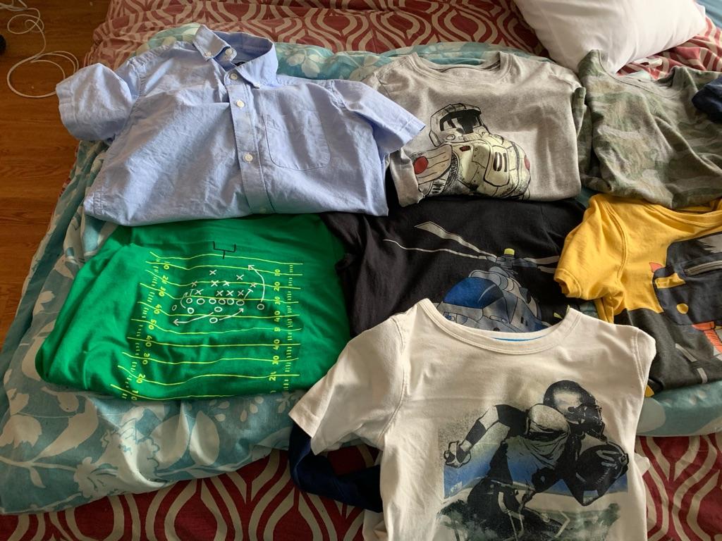 13 boys shirts size 12