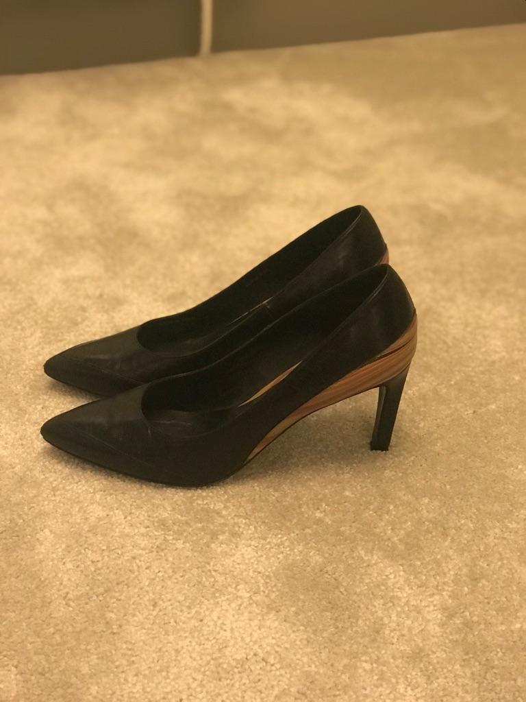 Paul Smith black stiletto size 6