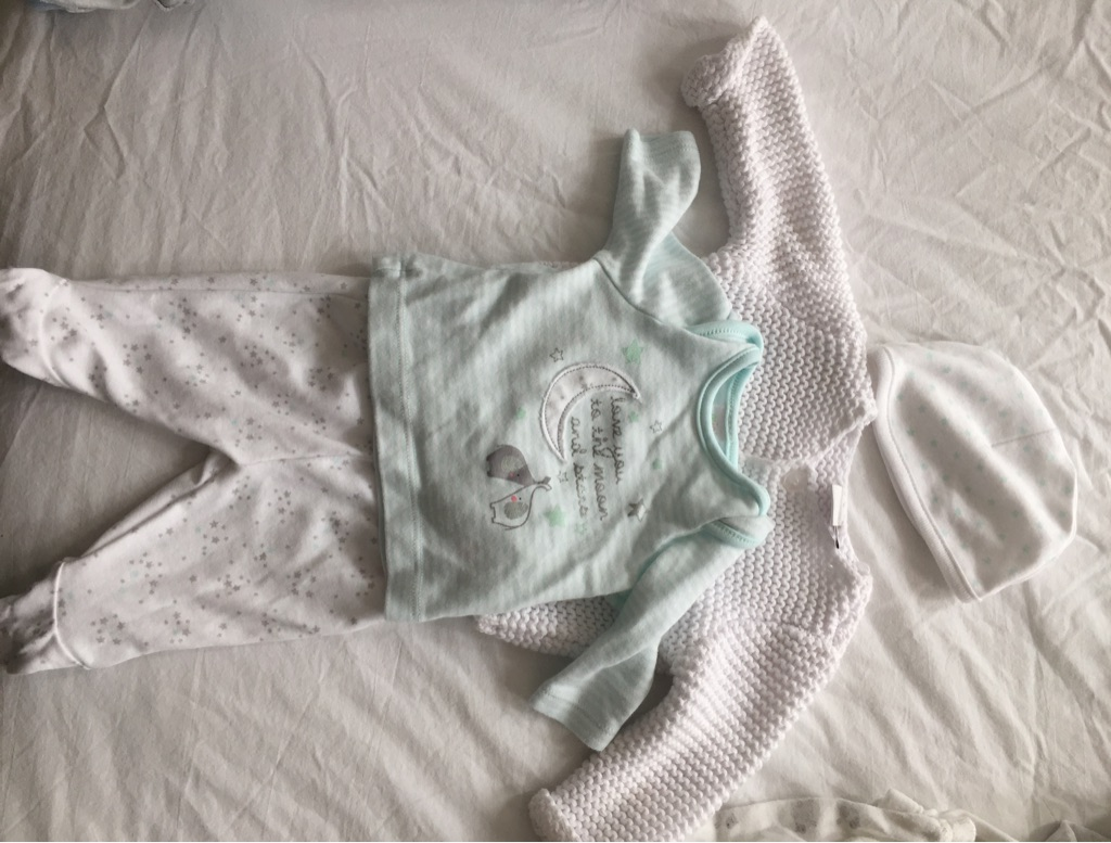 Tiny Baby 4 Piece Baby Outfit