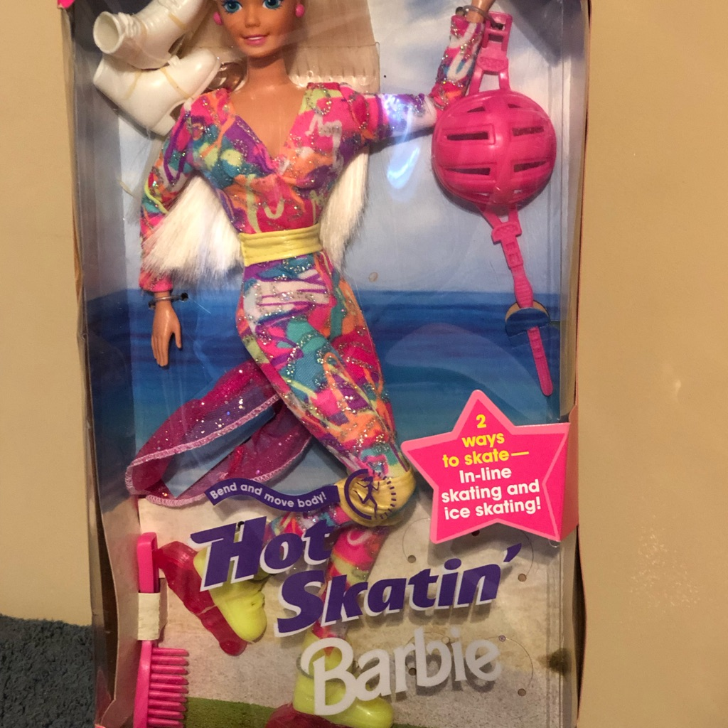 Hot Skating Barbie