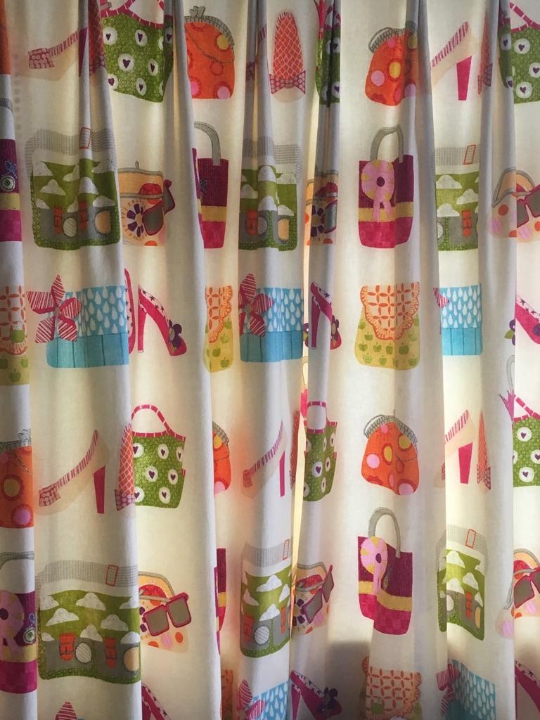 Designer guild full length curtain