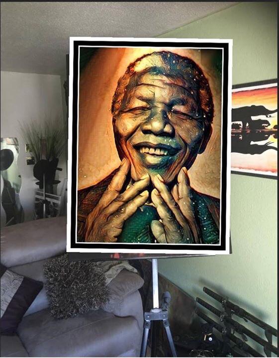 Nélson Mandela Canvas Wall Art (new)