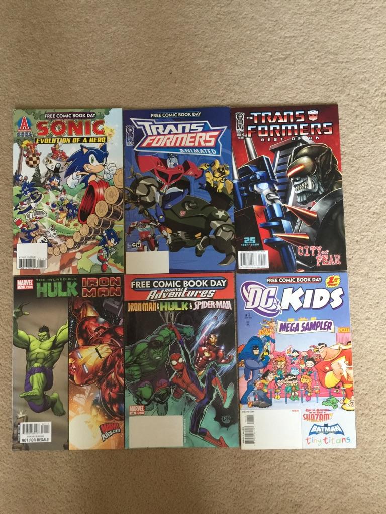DC Marvel Comic Bundle