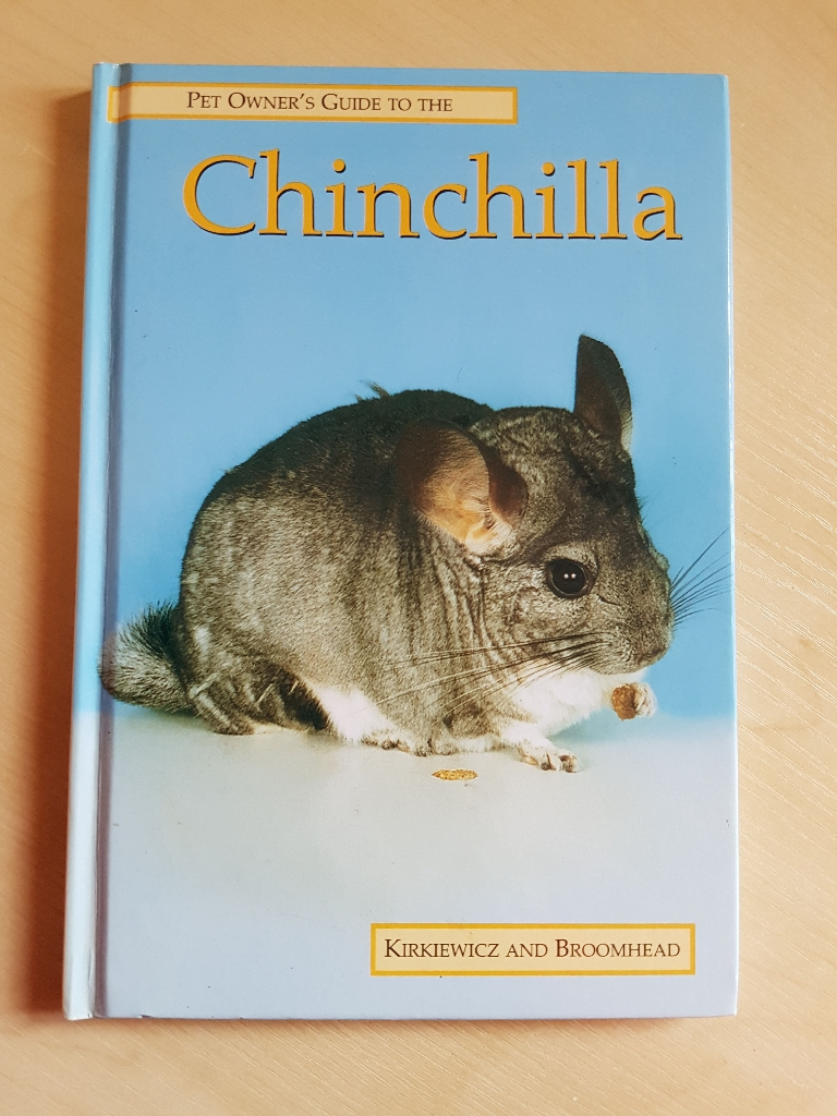 Pet Owner's Guide To The Chinchilla by Kirkiewicz and Broomhead
