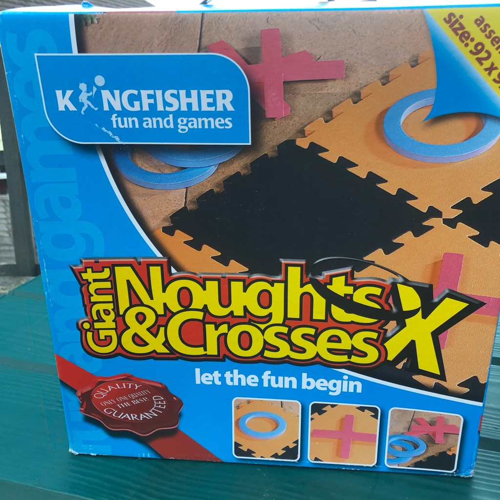 Brand new Giant   foam noughts and crosses