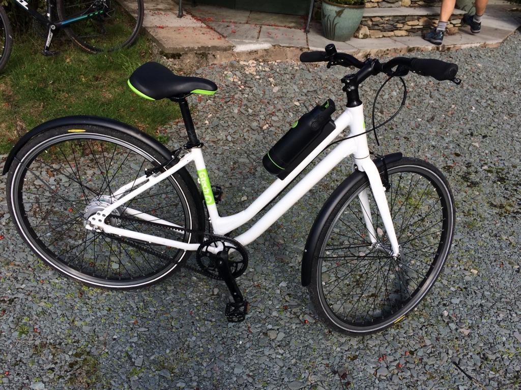 Ladies. G. Tech electric bike