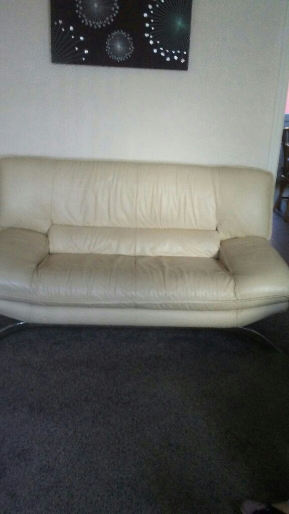 2 seat settee and 1 chair
