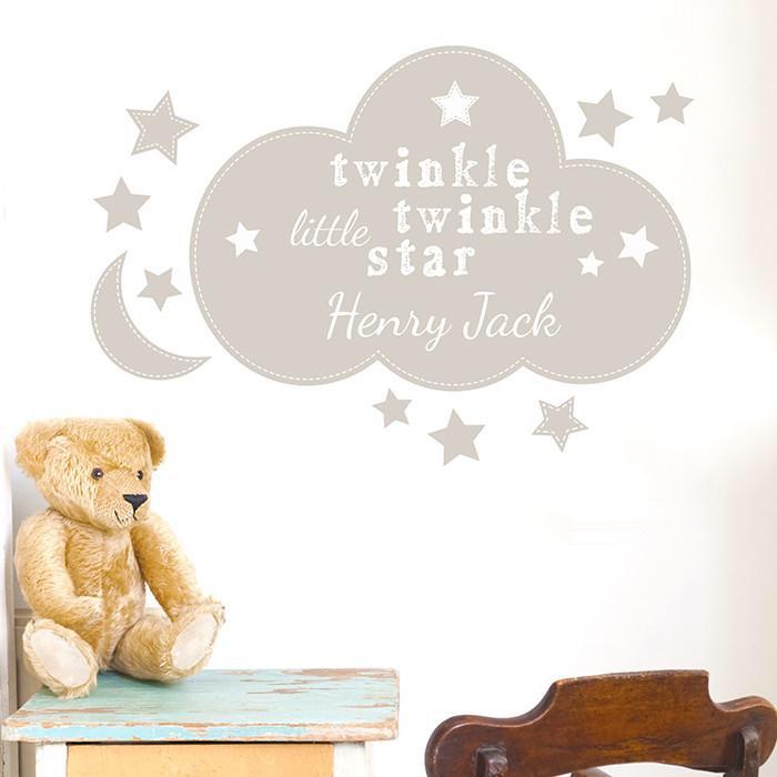Personalised 'Twinkle Twinkle' Wall Art