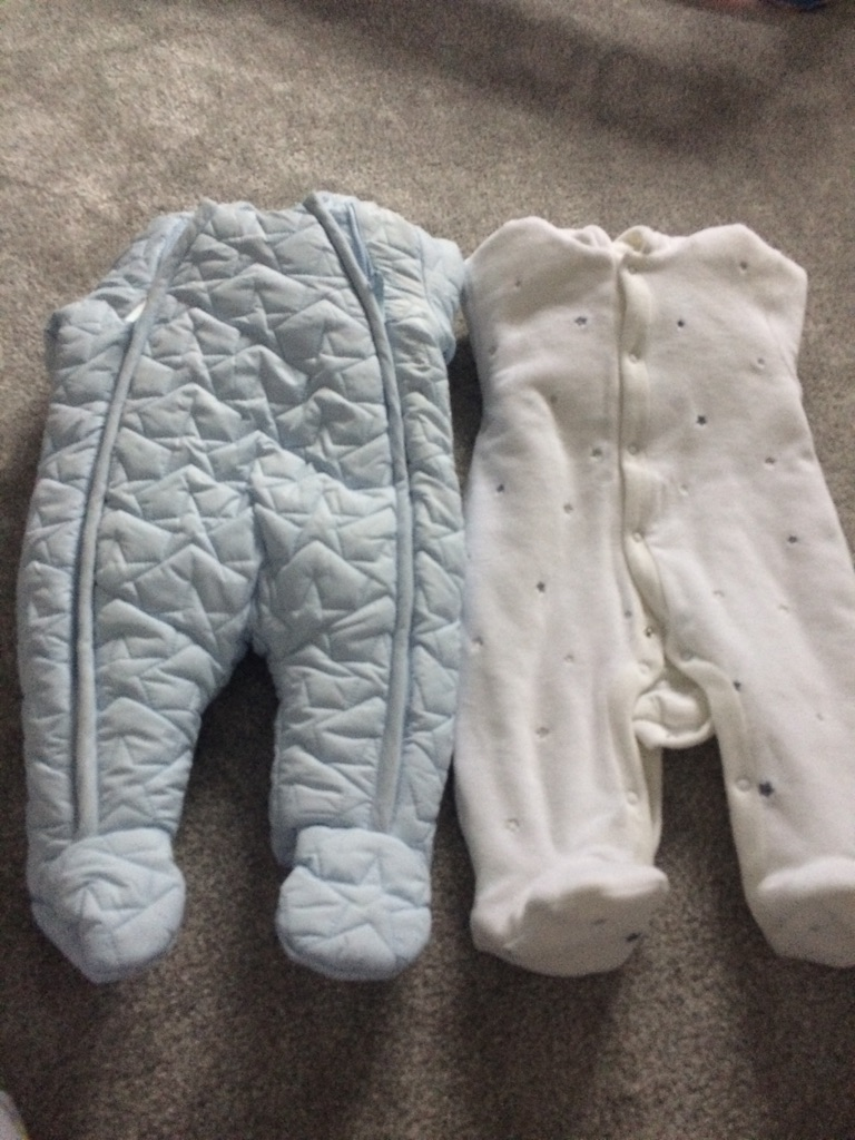 2 x boys snowsuits