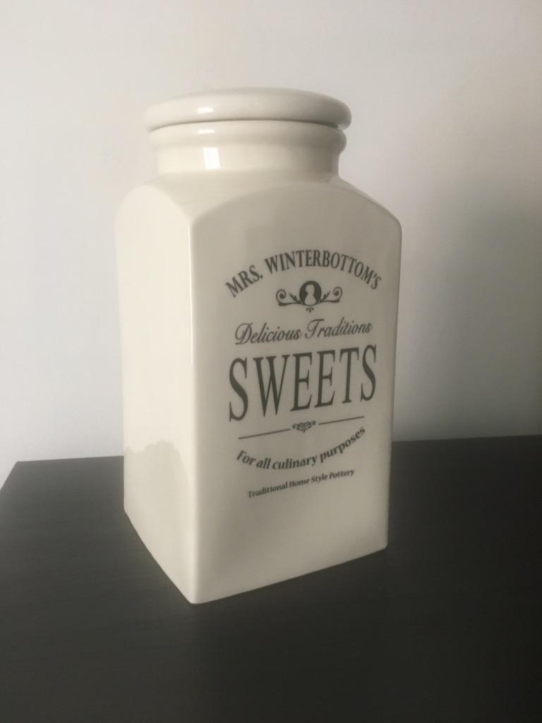 Big sweets jar, food storage