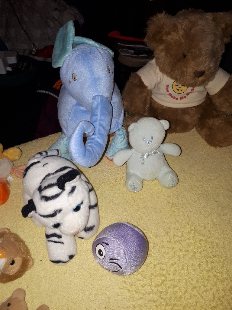 Bby toys soft noisy rattle a few snuggly bedtime ones