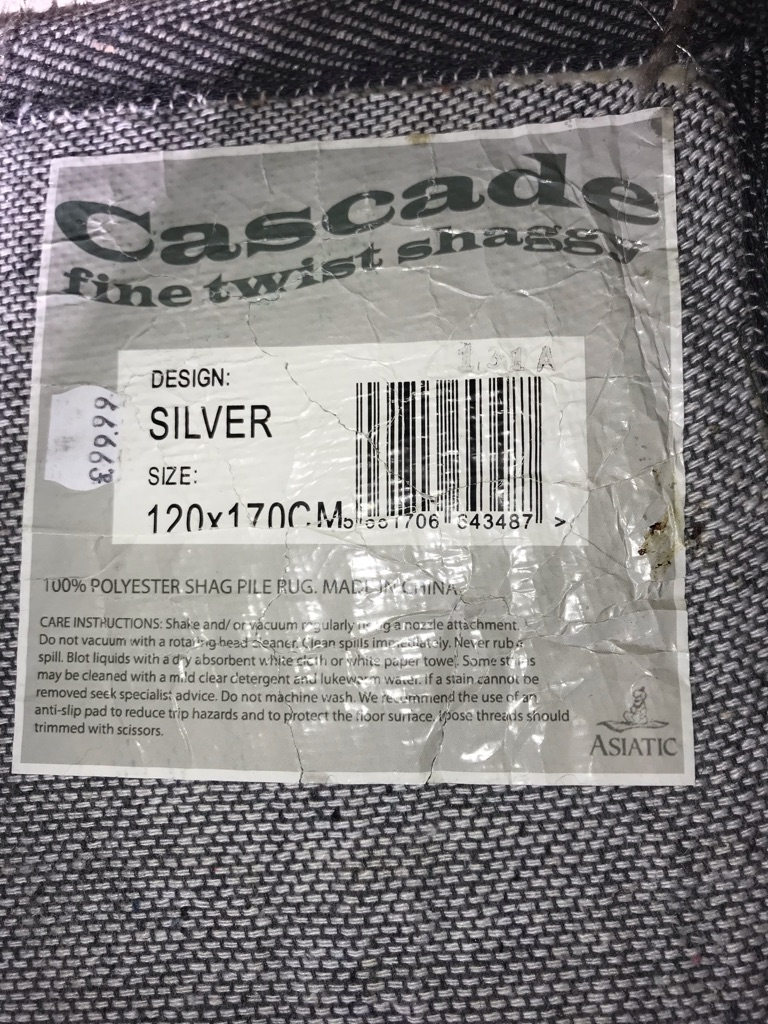 Grey/Silver Rug