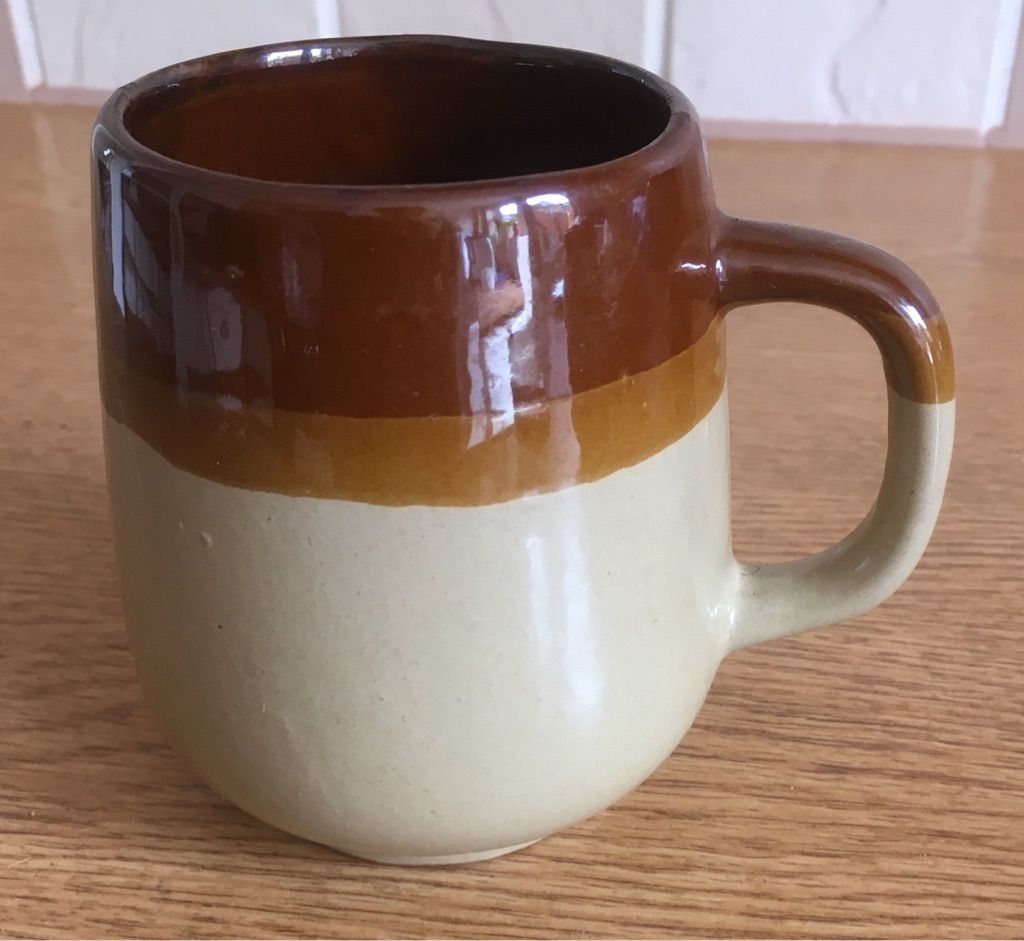 POTTERY COFFEE CUP