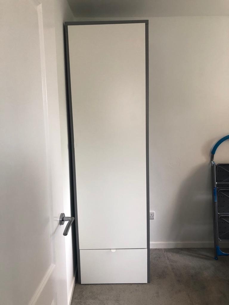 Ikea Visthus single tall narrow wardrobe