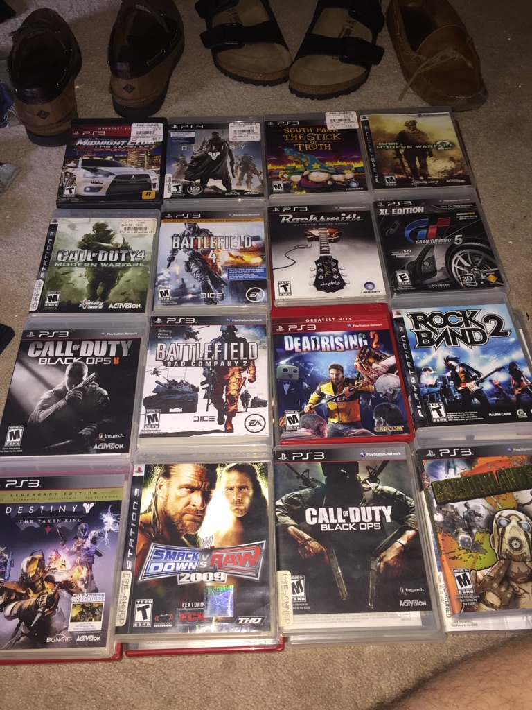 PlayStation 3 with 48 games