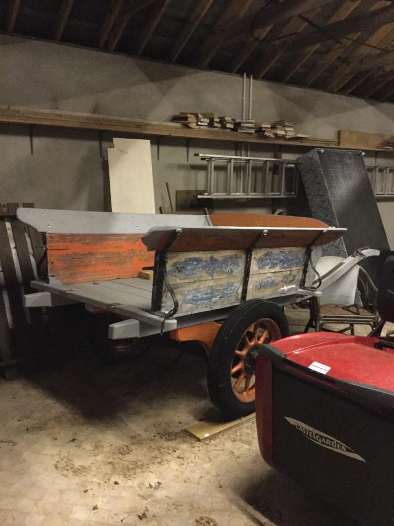 Vintage farming cart