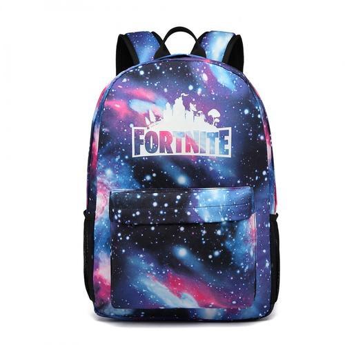 Fortnite print game logo backpack