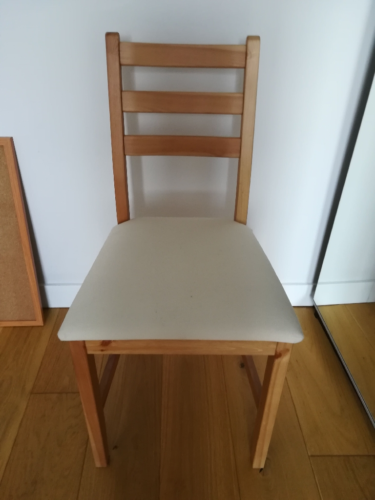 IKEA small desk and chair