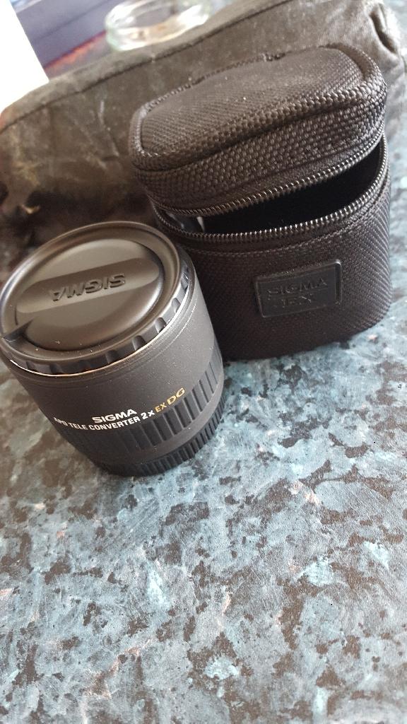 Sigma APO Tele Converter 2x EX DG for Canon AF
