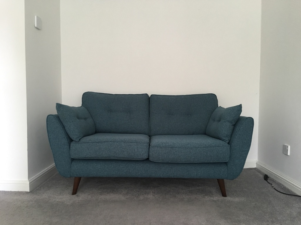 French Connection Zinc 2 Seater Sofa