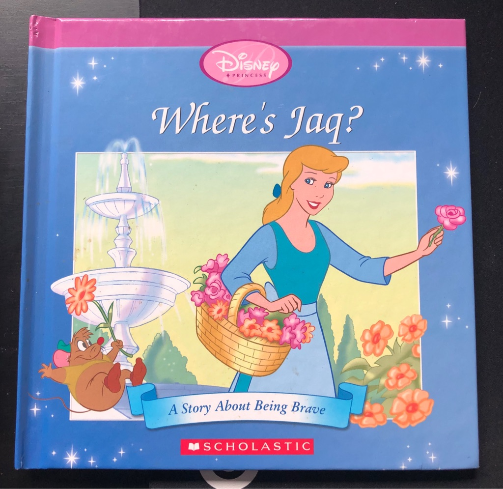 CHILDS DISNEY WHERE'S JAQ? BOOK