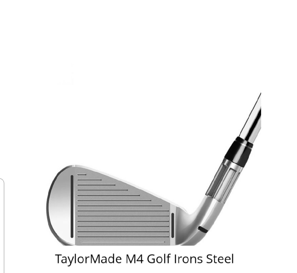 Taylormade 2018 M4 4PW Irons