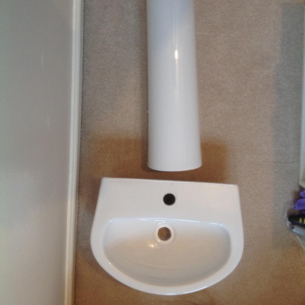 Full pedestal basin