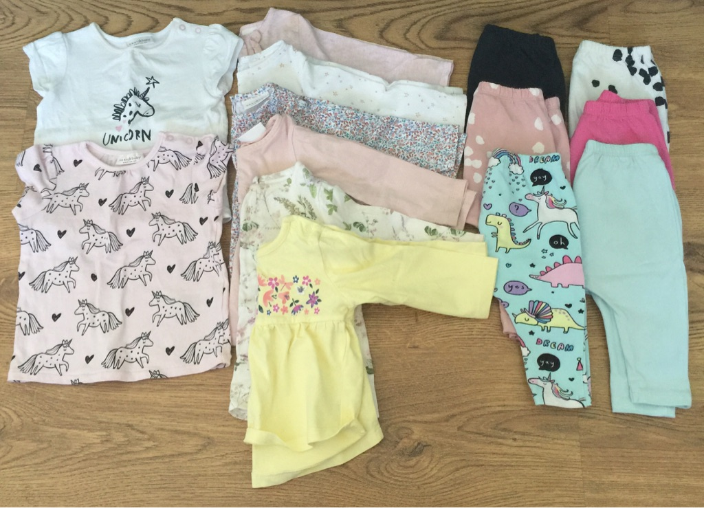 Bundle of quality girls clothes 3-6 months