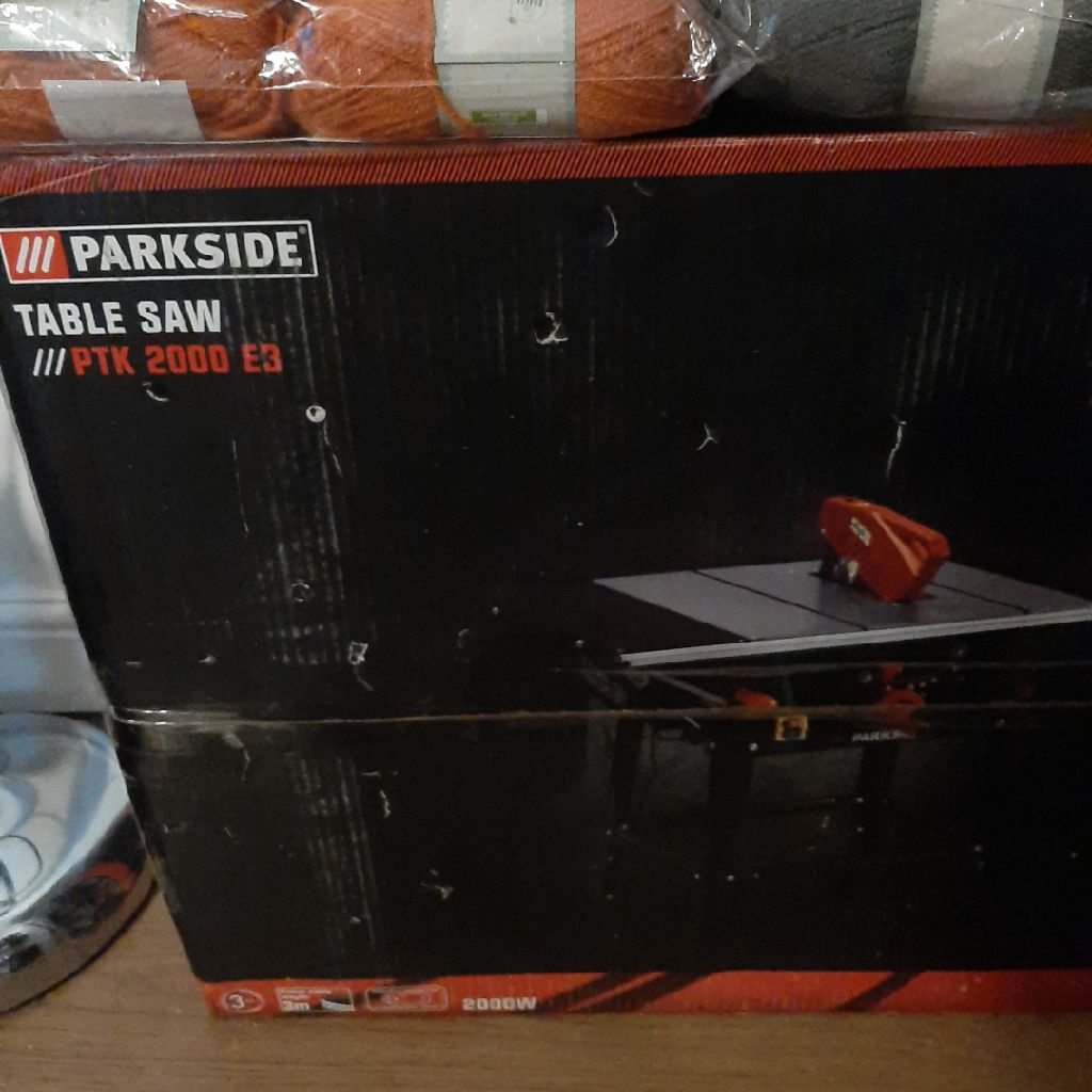 Table saw parkside