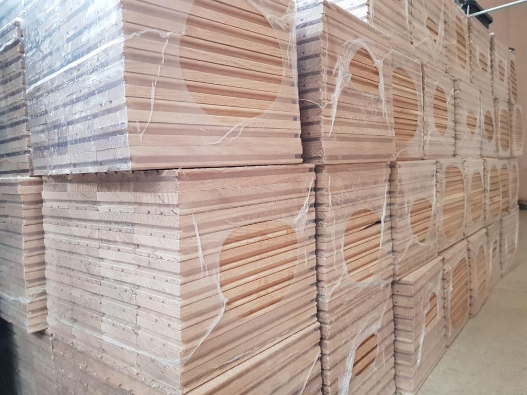 Solid Oak Parquet Blocks - wooden flooring