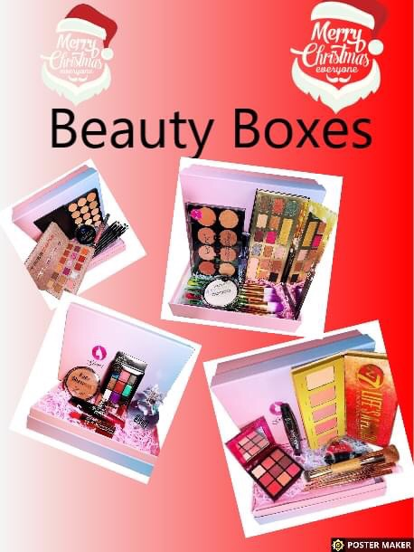 Beauty boxes and gift sets