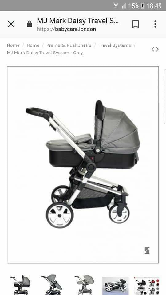 Daisy 3 way travel system