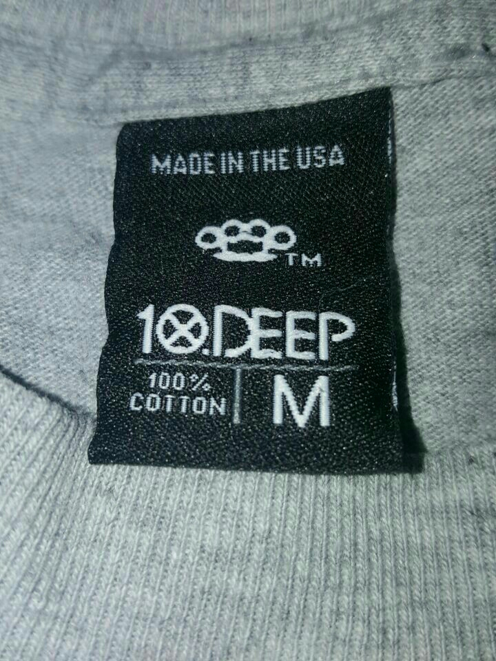 10 deep medium Grey shirt