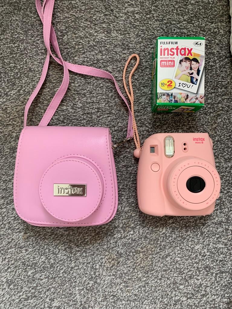 Instax Mini 8 camera pink